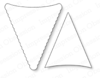 Stanzschablone Pennants Set