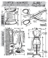 Sewing Blueprint (Cling Set)