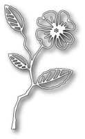 Stanzschablone Dogwood Blossom Outline