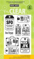 Clear - Luggage Tags
