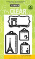 Clear - Travel Tags
