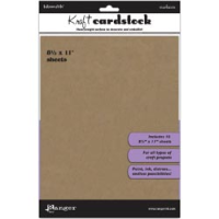 "Inkssentials Kraft Surfaces - 8-1/2"" X 11"""