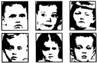 Children's Faces Cube