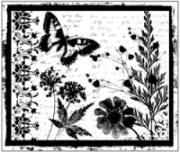 Butterfly Frame Collage II