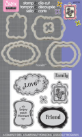 Stamp & Diecut - Message Frames