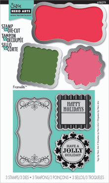 Stamp & Diecut - Tags