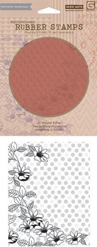 Cling - Floral Dot Background