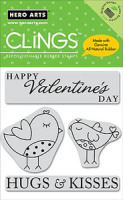 Cling - Hugs and Kisses Birds