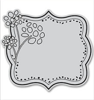 Cling - Floral Plate