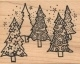 Cling - Textured Spruces mini