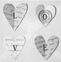 Love Notes - 4 Love Hearts
