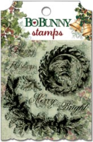 Father Christmas Clear Stamps