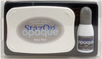 StazOn Baby Blue Kit
