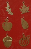Herbst Charms Set gold