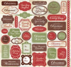 Christmas Baking Stickers 12x12