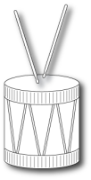 Stanzschablone Fancy Drum