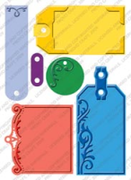 Cuttlebug Plus - Embossed Tags
