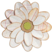 Sizzix Bigz Bigkick/Big Shot Die - Petal Flower Power