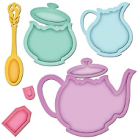 Spellbinders Shapeabilities - Tea Service