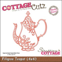 Filigree Teapot Made Easy