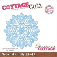 Snowflake Doily Made Easy