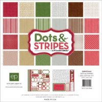 Christmas Dots & Stripes Collection Kit
