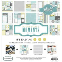 "Photo Freedom Happy Little Moments Collection Kit 12""X12"""