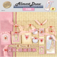 Almost Done Page Kit 12x12 Girl