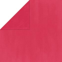 Textured Cardstock Double Dot - Strawberry