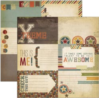 Papier Awesome - Journaling Card Elements #1