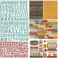 Harvest Lane - Cardstock Stickers Expressions