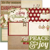 "Handmade Holiday - 4""x6"" Journaling Cards #1"