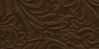 "Galleria Embossed Felt 9""X12"" - Cocoa Brown"