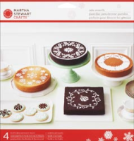Martha Stewart - Holiday Cake Stencils