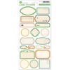 Travel Girl - Label Cardstock Stickers Assortment
