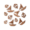 Wood Veneer - Boats & Anchors