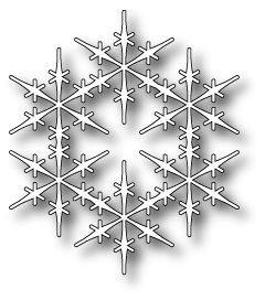 Stanzschablone Sussex Snowflake