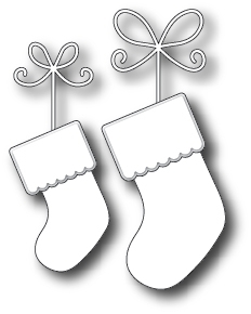 Stanzschablone Precious Stockings