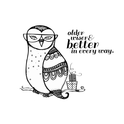Itty Bitty - Older, Wiser, Better Owl