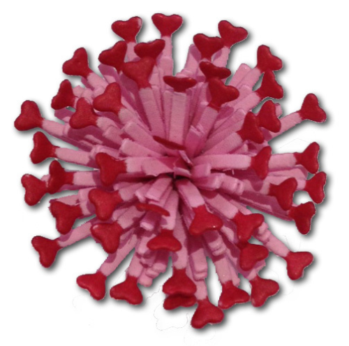 Stanzschablone Small Heart Lollipop Fringe