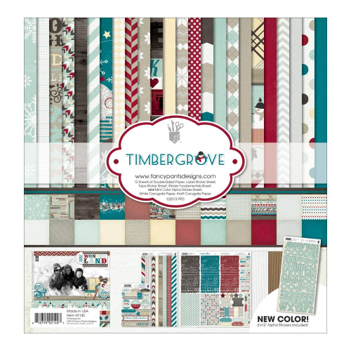 "Timbergrove Collection Kit 12""X12"""