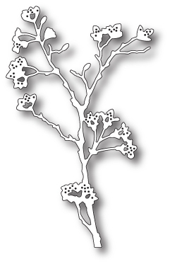 Stanzschablone Blooming Branch