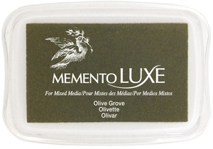 Memento Luxe Stempelkissen - Olive Grove