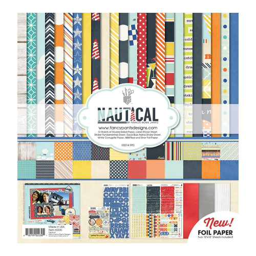 "Nautical Collection Kit 12""X12"""
