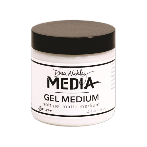 Dina Wakley Media Gel Medium - Matt