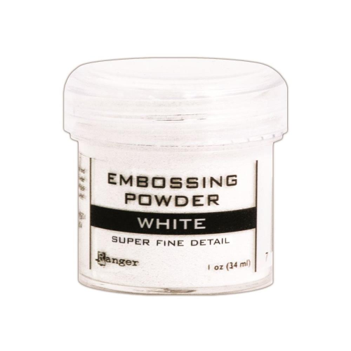 Embossingpulver Super Fine White