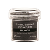 Embossingpulver Super Fine Black