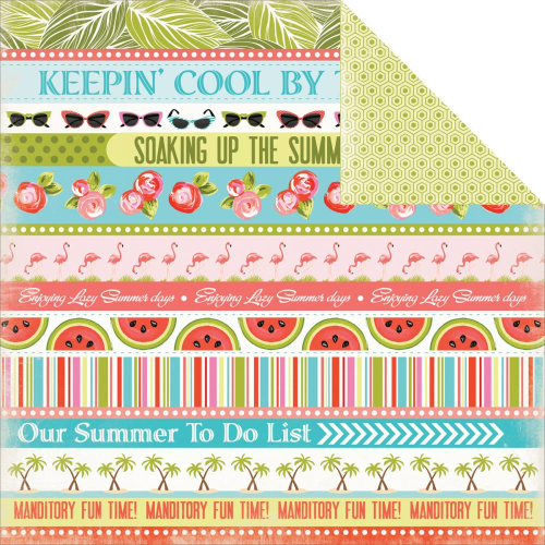 Papier Summer Lovin' - Cool By The Pool