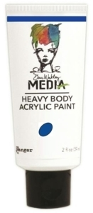Dina Wakley Media Heavy Body Acrylic Paint - Lapis