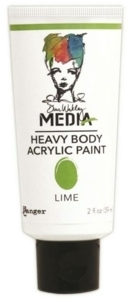 Dina Wakley Media Heavy Body Acrylic Paint - Lime